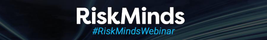 RiskMinds Webinar header