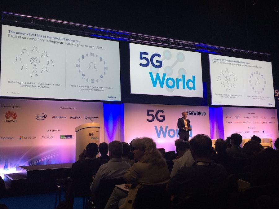 Hossein Moiin, Nokia, at 5G World
