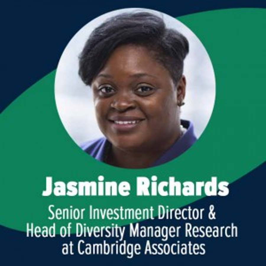 Q&A with Jasmine Richards, Senior Investment Director & Head of Diversity Manager Research at Cambridge Associates: Expansive viewpoints for better results: why you should consider diversity when choosing managers