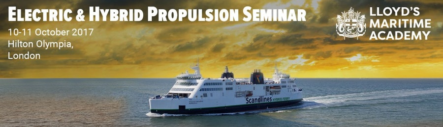 Electric, hybrid and battery powered ships are already in use! Find out about your opportunities to go green at our Electric & Hybrid Propulsion Seminar. Book now!