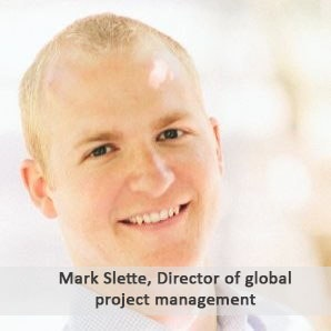 Mark Slette, director of global project management for central laboratory services at Covance