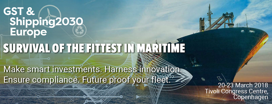 Join us at our next Green Ship Technology & Shipping2030 conference in Copenhagen.
