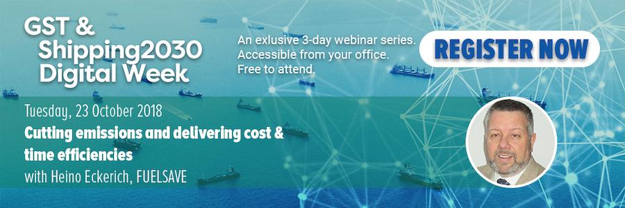 Green Ship Technology & Shipping2030 webinar series