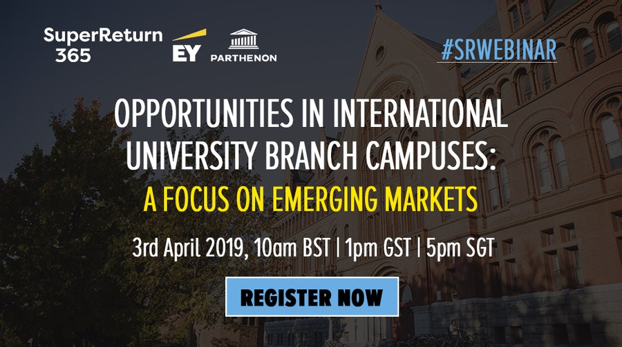 Webinar Opportunities in international university branch campuses: a focus on emerging markets