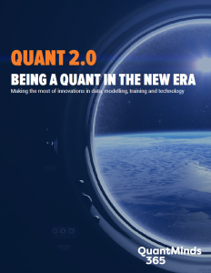 QuantMinds eMagazine Being a quant in the new era
