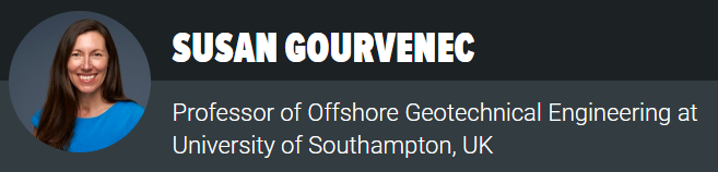 Liquefaction of Bulk Cargoes Speaker Susan Gourvenec, University of Southampton, 2018