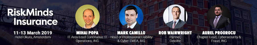 RiskMinds Insurance Cyber Security Speakers