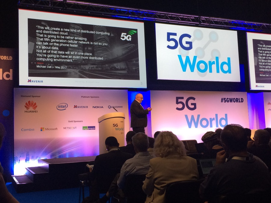 4G Evolution - John Baker, Mavenir at 5G World