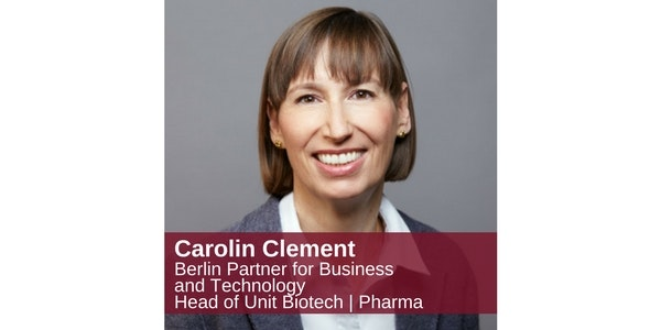 Carolin Clement Berlin Partner for Business and Technology Head of Unit Biotech | Pharma