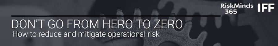 OPerational risk webinar