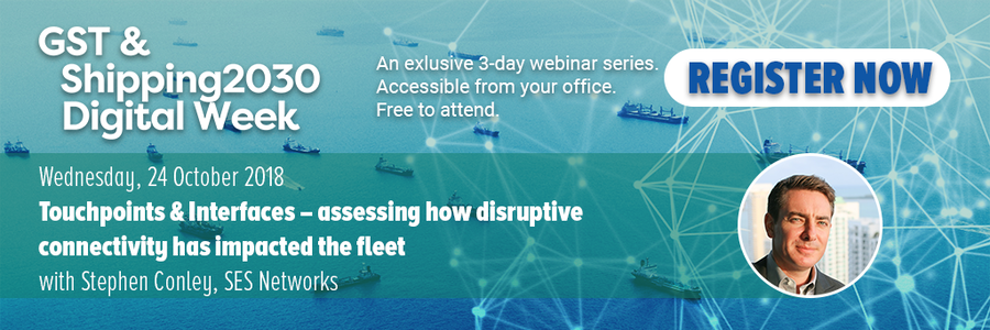 SES Networks webinar Touchpoints & Interfaces – assessing how disruptive connectivity has impacted the fleet