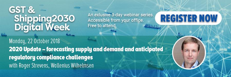 Green Ship Technology & Shipping2030 Digital Week - Roger Strevens, Wallenius Wilhelmsen, free webinar