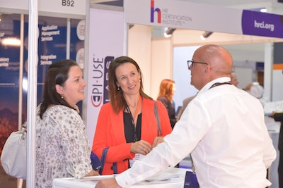HRSE 2018: Visitor at the stand