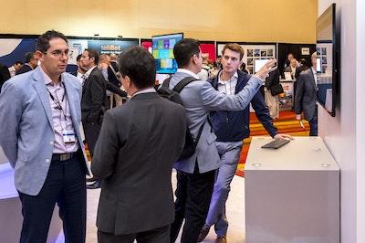 networking expo floor smart cities summit