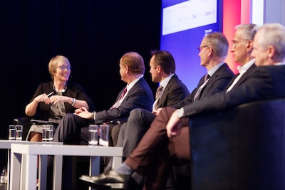 Kate Bulkley, media commentator and journalist interviews the expert panel of cable executives
