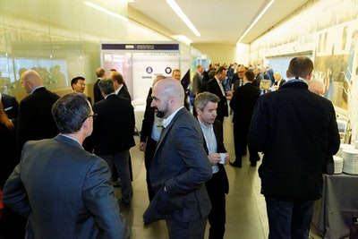 Networking on the exhibition floor