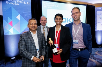 2018 Telco Data Analytics & AI Europe Award Winners Nokia