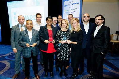 2018 Telco Data Analytics & AI Europe Award Winners All