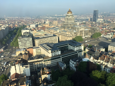 View from 24th floor of The Hotel Brussels - EU Pharmaceutical Law Forum 2016