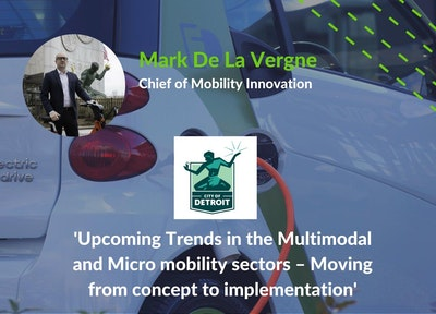 Mark De la Vergne, Chief of Mobility Innovation, City of Detroit