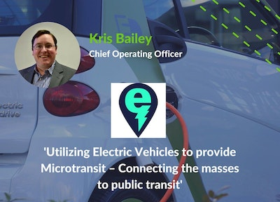Kris Bailey, COO, Electric Cab of North America