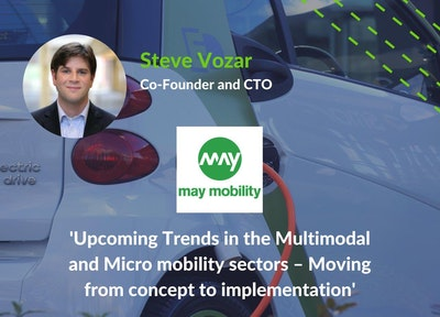 Steve Vozar, Co-Founder and CTO of May Mobility