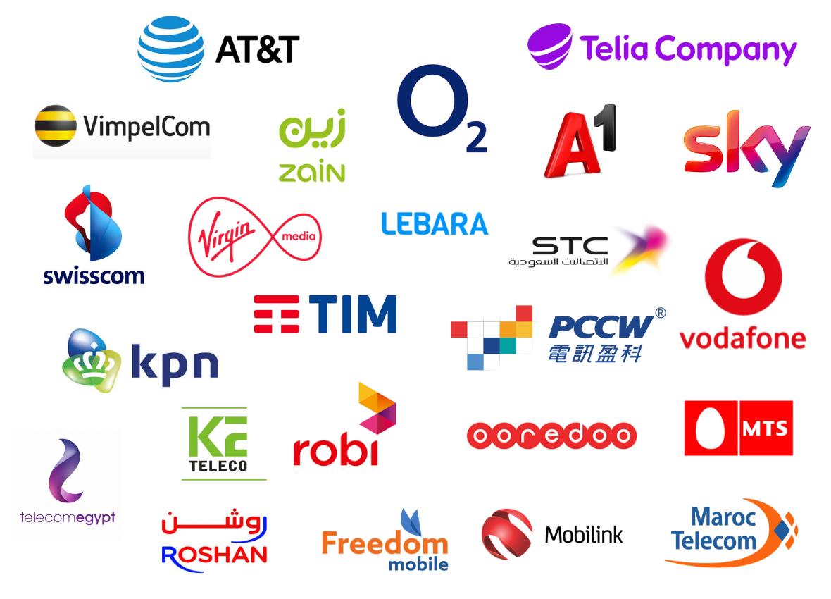5G World Event Series Operator attendees 3