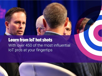 Learn from IoT hotshots with 450 influential IoT pros at your fingertips
