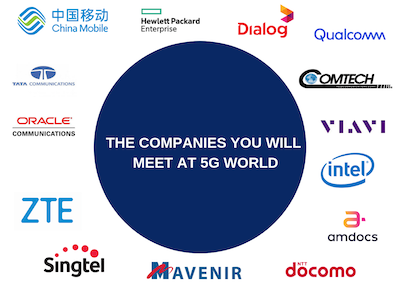 5G World Operator Attendees 2