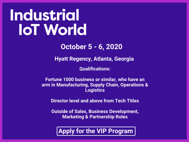 Industrial IoT World VIP Program