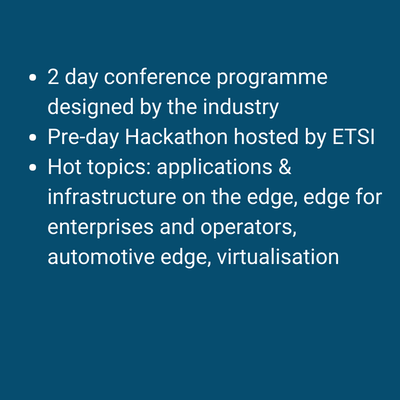 what can you learn about at edge computing congress