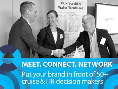 Meet. Connect. Network: put your brand in front of 50+ cruise & HR decision makers