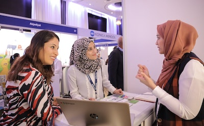 Networking at EDEX MENA