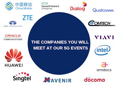 5G World Event Series Operator attendees 2