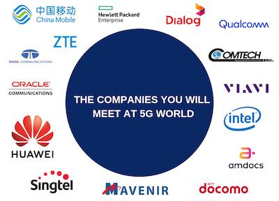 5G World Operator Attendees 2