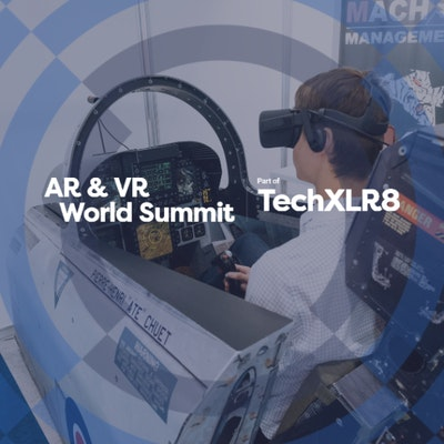 Book your free visitor ticket for AR & VR World