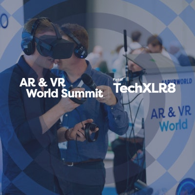 Free visitor ticket for AR & VR World