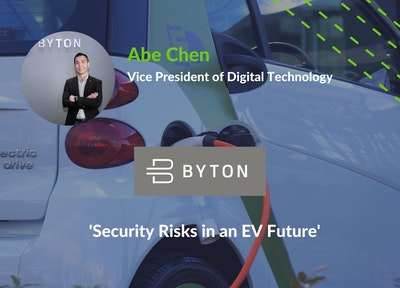 Abe Chen, Vice President of Digital Technology, BYTON