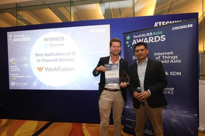 WorkFusion Award Winners