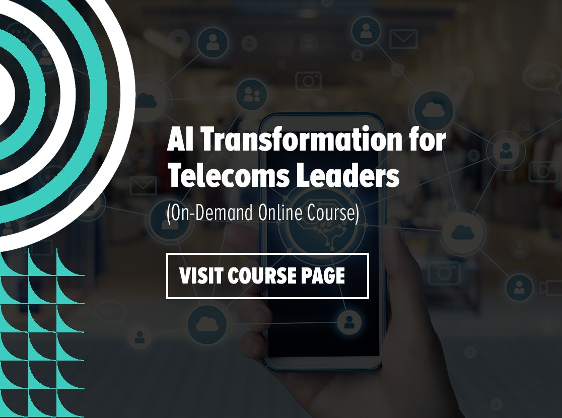AI Transformation for Telecoms Leaders On-Demand Online Course