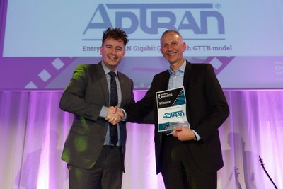 Best Fixed Access Solution. WINNER: Adtran