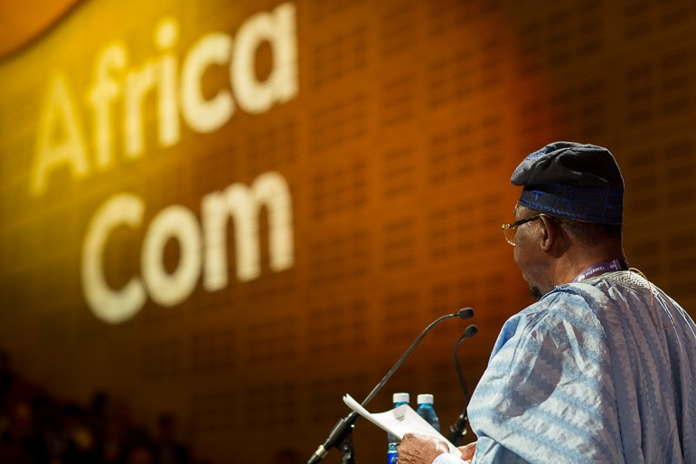 AfricaCom Headliner Stage