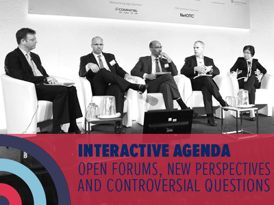 Interactive agenda: open forums, new perspectives and controversial questions