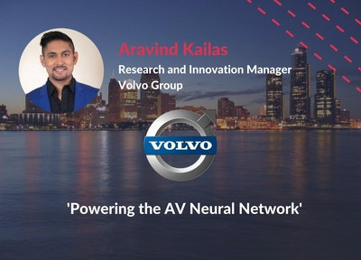 Aravind Kailas of Volvo Group