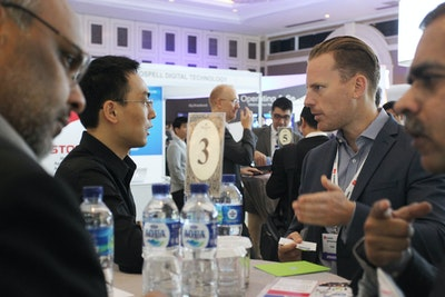 Speed networking at Video Exchange Asia