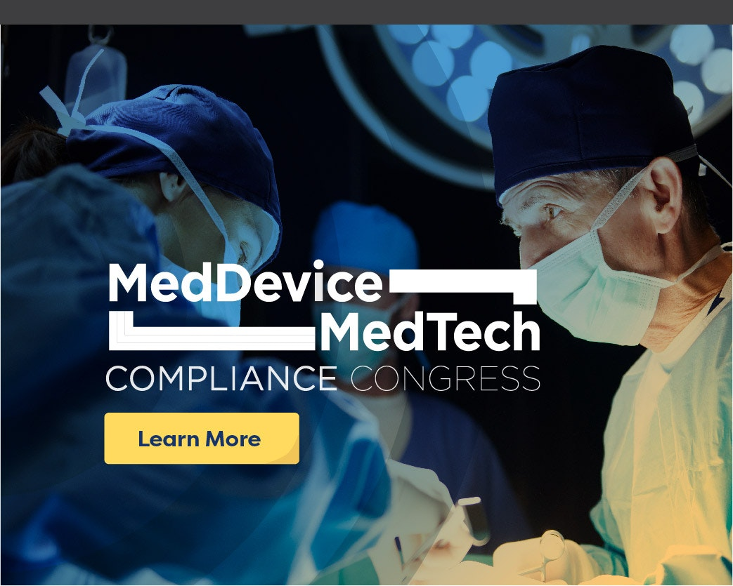 MedDevice MetTech Compliance Congress