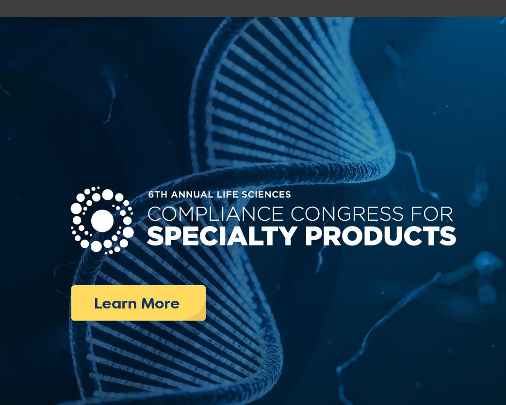 Compliance Congress for Specialty Products