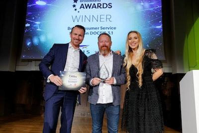 Best Consumer Service Based on DOCSIS 3.1- WINNER: ARRIS & Vodafone