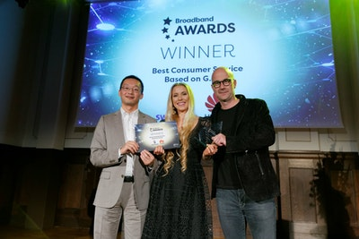 Best Consumer Service Based on G.Fast - WINNER: Swisscom & Huawei