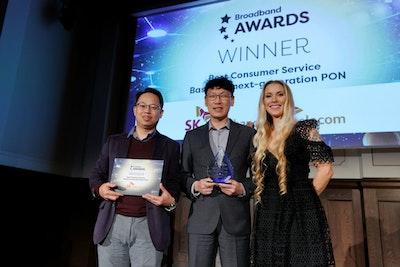 Best Consumer Service Based on Next-Generation PON - WINNER: SK Telecom & SK Broadband